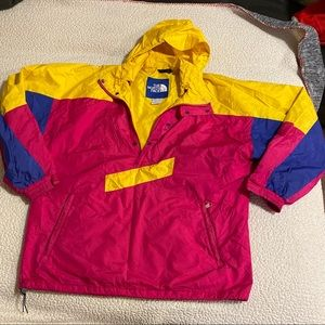 Vintage North Face 1/4 Zip Ski Jacket